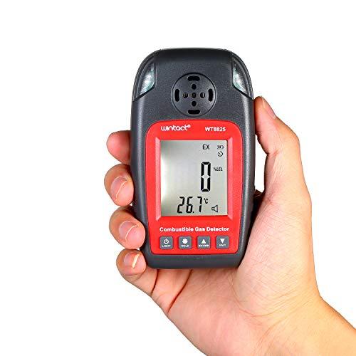 KKmoon Kohlenmonoxid Detektor Gasmelder Digitales CO Abgastester Kohlenmonoxid Messgerät mit LCD Display und Alarm