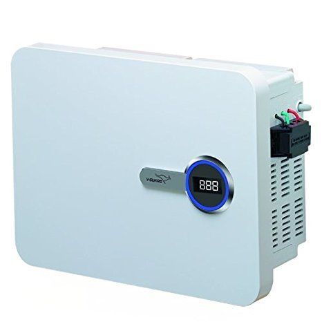 V-Guard VDI 400 Voltage Stabilizer (White)