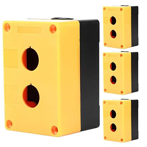 La caja de control del interruptor de la caja del botón del interruptor del agujero doble proyecta el equipo de la fuente de alimentación