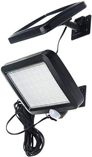 56 LED Ultrahelle Solares Leuchte mit Bewegungsmelder (Kabel 16.5ft)
