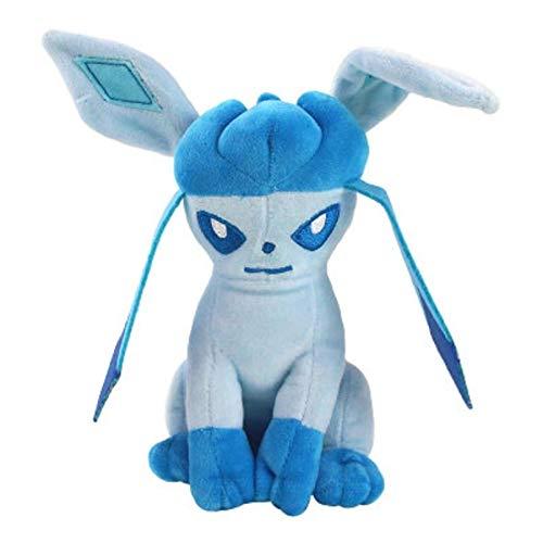 LETAMG ASDFF - Peluche de Sylveon Umbreon Eevee Espeon, Vaporeon Flareon, juguete de peluche suave, regalo para niños, 20 cm