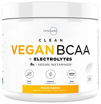 Ultra Clean BCAA Powder (Vegan BCAA | 6G | Sugar Free | Zero Artificial Sweeteners | Keto BCAA) - Best Tasting BCAA for Women and Men & BCAA Amino Acids Post Workout Recovery Drink
