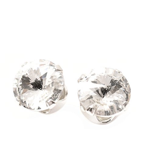 925 Orecchini in argento realizzati a mano con cristallo scintillante da SWAROVSKI®.