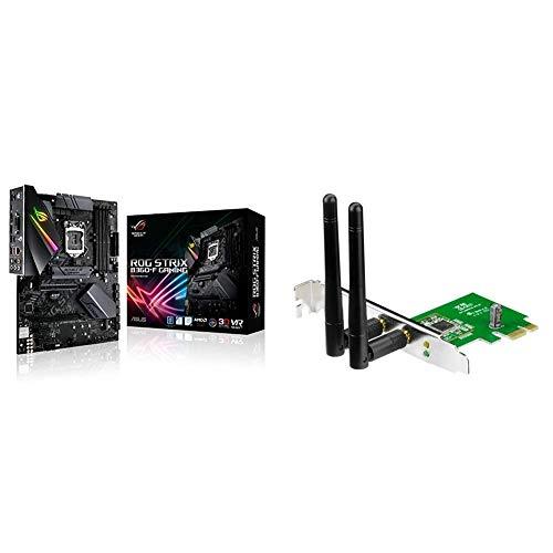 Asus ROG STRIX B360-F GAMING Scheda Madre + PCE-N15 Scheda di rete PCI-Ex Wireless