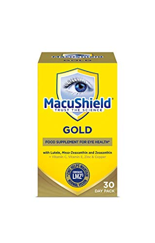 Macu Shield Gold Food Supplement - 30 day pack