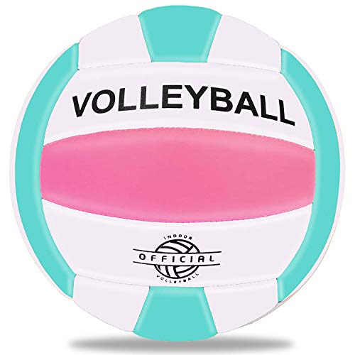Beach Play Size 5 Gym Training Super Soft Volleyball Waterproof Indoor//Outdoor Official Volleyball for Pool,Game