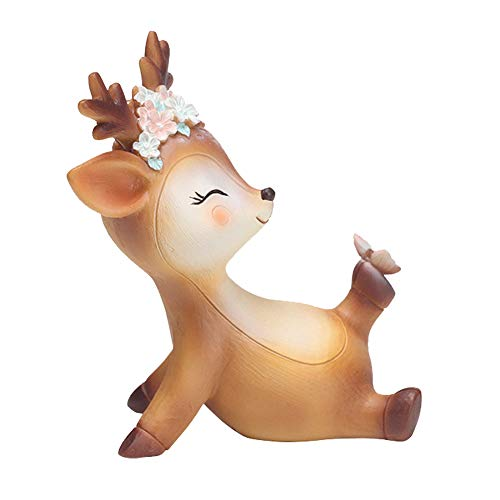 Art Secret Resin Cute Deer Cake Topper (a-Naughty)