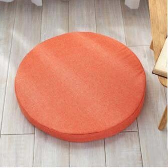 High-density sponge pad, Round cushion Chair cushions Seat cushioning Wicker-chair padding Yoga mat Thickening cushion for fabric-C diameter 45cm (18inch)
