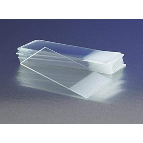CORNING - 75x25mm Microscope Slides, Frosted OneSide, One E nd, CS10