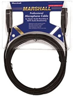Marshall Electronics M25 12 英寸 XLR 到 XLR 麦克风电缆