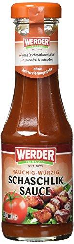 Werder Schaschlik Sauce, 1er Pack (1 x 250 ml)