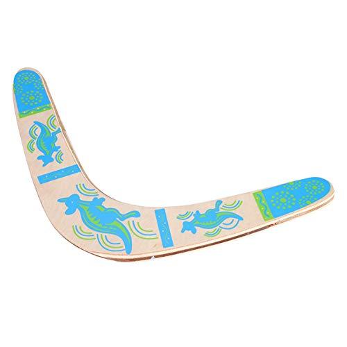 Boomerang en Forma de V Juego de Captura de Disco Volador de Madera Juego de Juguete de Deportes al Aire Libre para niños