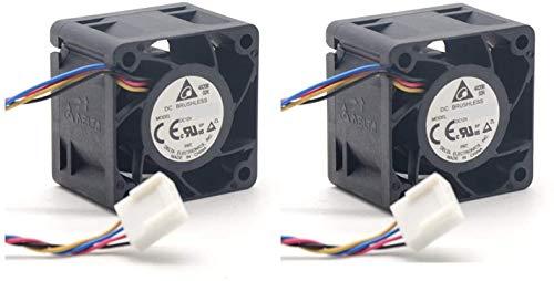 (2 unidades) Ventiladores de refrigeración extra, ventiladores de repuesto para conmutador Aruba HPE 2520G-24-PoE (J9299A)