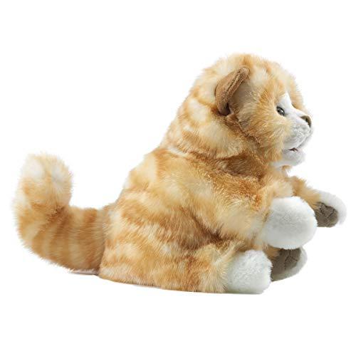 Folkmanis Orange Tabby Kitten Hand Puppet