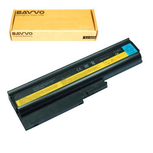 Bavvo Battery Compatible with ThinkPad R500 T500 W500 40Y6795 40Y6797