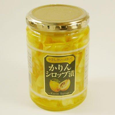 オレンジゼリー本舗 花梨シロップ漬け スライス 花梨 マルメロ 入り 460g×1本