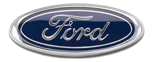 Front Grille Replacement Badge Emblem Medallion Name Plate Compatible with 2005-2014 F150 Fits 05-07 F250 F350 11-14 Edge 11-16 Explorer 06-11 Ranger Dark Blue