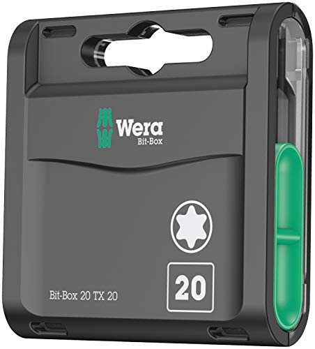 Wera 05057770001 Box TX 20 Bit-Sortiment, Stück