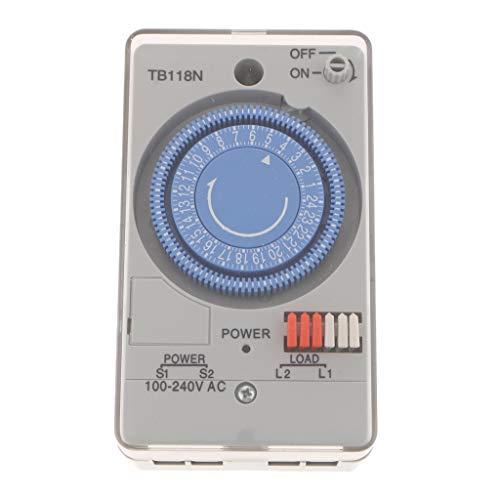 MERIGLARE Temporizador de, Tomacorriente, Temporizador, CA 100-240V