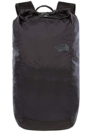 The North Face Equipment TNF Bolsa con tapa enrollable Flyweight, Unisex adulto, TNF Black/Asphalt Grey, Talla única