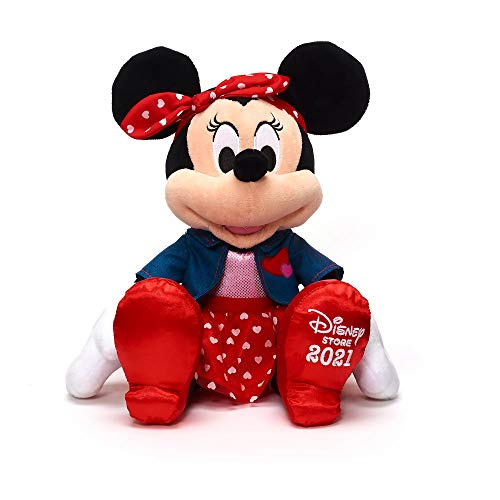 OfficialDisney Disney Minnie Mouse 2021 Sweetheart Valentine's Day Soft...