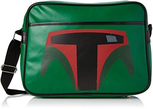 Bolso de hombro Boba Fett de Star Wars, color Verde, talla Talla única