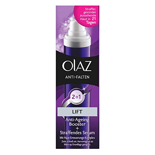 Olaz Anti-Falten Lift 2 in1 Tagescreme und Serum Pumpe, 30ml