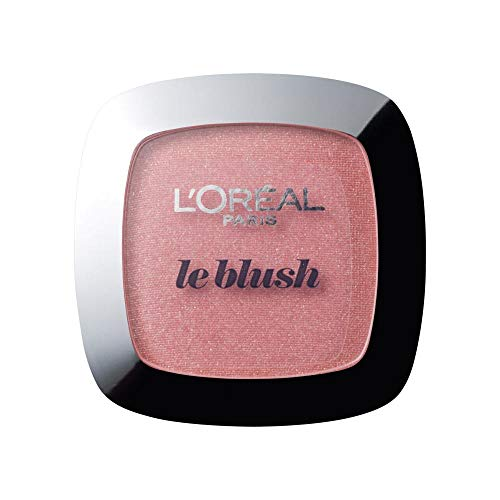 L'Oréal Paris Rouge Perfect Match Le Blush, 90 Luminous Rose / Dezent-matter Blush für einen frischen Alltags-Teint für alle Hauttypen / 1 x 5 g