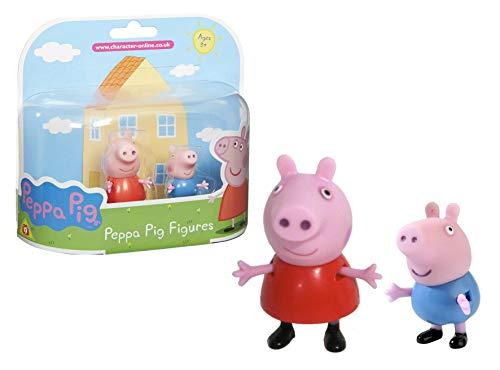 Peppa Pig 2 personajes Peppa y George Giochi Preziosi