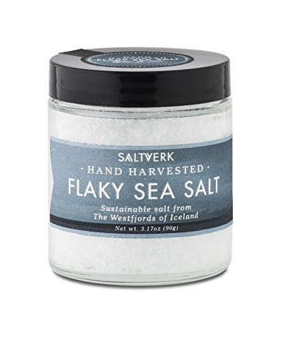 Saltverk Flaky Sea Salt, 3.17 Ounces Handcrafted Gourmet
