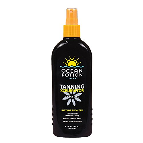 Ocean Potion Tanning Xcelerator Spray Gel, 8.5 Ounce