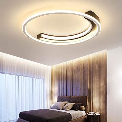 Eenvoudige en moderne led-slaapkamerlamp, creatieve warmte-study lamp persoonlijkheid, sfeer, rond, studeerkamer, balkonverlichting, geschikt voor badkamer, keuken, hal.