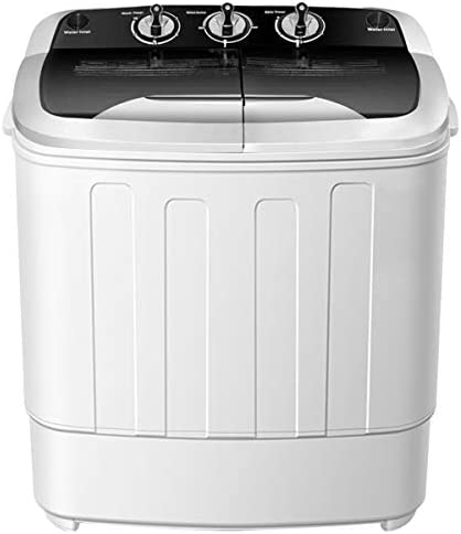 Portable Washer and Dryer Combo SAFEPLUS Compact Mini Twin Tub Versatile Washing Machine with product image