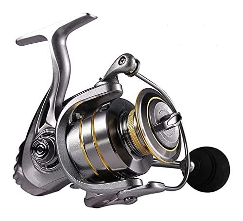 LQJin 13 + 1BB Carrete de Hilado Carrete de Pesca 5.1: 1 relación de Engranaje Carrete de Hilado Carpa de Pesca Carpa (Color : 2000 Series)