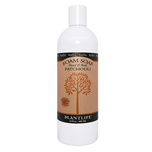 Patchouli Hand & Body Foam Soap - 16oz Refill