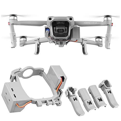 iEago RC Drone Thrower Airdrop Air System Consegna Goccia Dispositivo di Trasporto per Esche da Pesca Ricerca pubblicità Anello Kit per DJI Air 2 Dropper Accessori droni