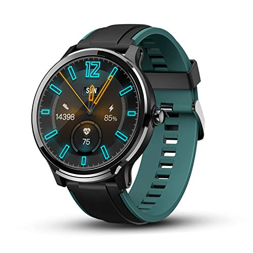 KOSPET Smart Watch for Android iOS Phones IP68 Waterproof, Full Touch Screen Fitness Tracker Watches with Heart Rate Monitor SMS Calls Reminder, Ultra-Long Battery Life Sport Smartwatch for Men Women