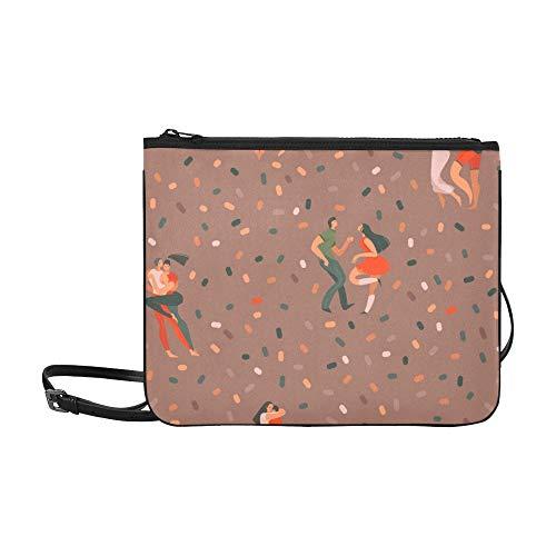 Nette Handtaschen Cartoon Bunte Nette Kinder Ammer Verstellbarer Schultergurt Umhängetasche Organizer Für Frauen Mädchen Damen Outdoor Umhängetasche Kinder Umhängetasche