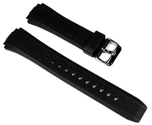 Casio Uhrenarmband Resin schwarz EF-552 10357533
