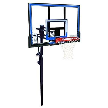 Spalding NBA In-Ground Basketball System - 50  Polycarbonate Backboard