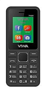Viwa F1820 Dual SIM Mobile, 1.8 Inches, 3G - Black and Red