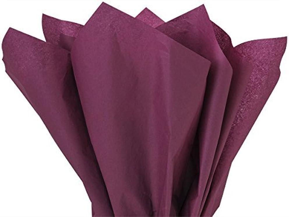 Burgundy Tissue Paper 15 Inch X 20 Inch - 100 Sheet Pack
