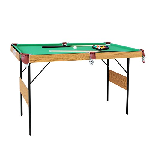 IFOYO Billiard Table, 55 Inch Folding Pool Table Steady Pool Game Table Modern Space Saving Billiard Table Game Kids Adults...