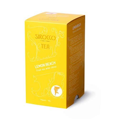 SIROCCO TEA (Switzerland) - Lemon Beach (Organic) - 20 tea bags / sachets