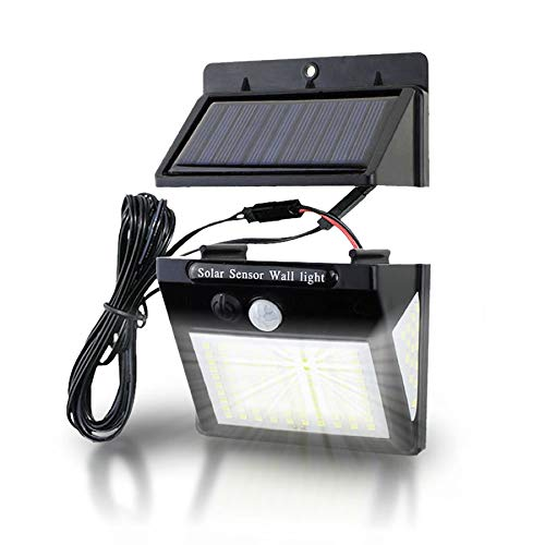 BRAVE 130LED 分離型 センサーライト 人感 明るさセンサー 自動点灯 ソーラー 屋外 ガーデン 庭 3面式 照明 太陽光 3モード MV-130BUNRINL