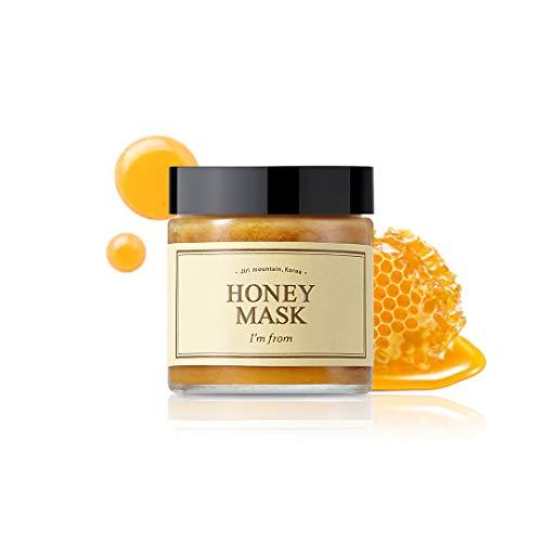I'M From Honey Mask - Natural Herbal 38.7% Inside, Pure Mask - Deep Moisturizing, Soothing & Nourishing