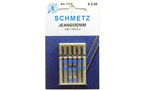Schmetz, Jean & Denim Machine Needles-Size 16/100 5/Pkg
