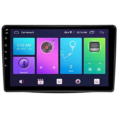 WHL.HH Androide Sistema Coche GPS Navegación 10 Pulgadas Pantalla táctil Cabeza Unidad Multimedia Jugador Marcha atrás Imagen 4G WiFi Bluetooth para Sorento 2013-2014 Estéreo Radio,S3