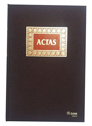 Dohe- Libro de actas, 100 hojas, folio natural (9905)