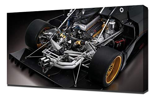 2009-Pagani-Zonda-R-V6-1080 - Stampa Artistica su Tela - Stampa Tela Canvas